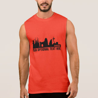Barcelona Landmarks custom text shirts & jackets