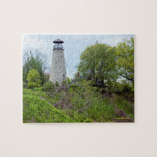 Barcelona Lighthouse, New York Jigsaw Puzzle