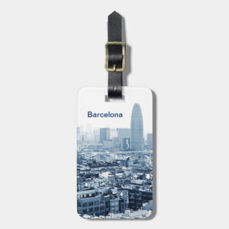 Barcelona Luggage Tag