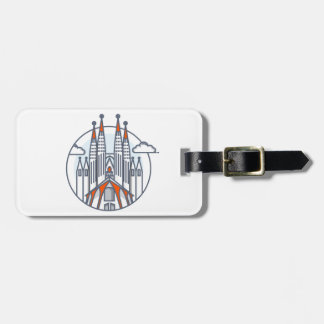 Barcelona Luggage Tag