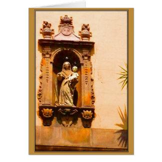 Barcelona Madonna Holiday card