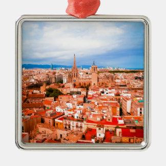 Barcelona Metal Ornament