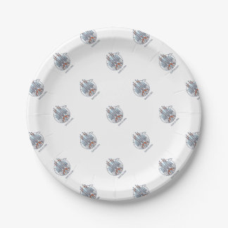 Barcelona Paper Plate
