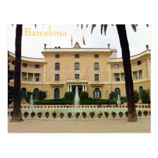 Barcelona - Parc de Pedralbes Postcard