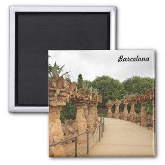 Barcelona Park Guell Magnet