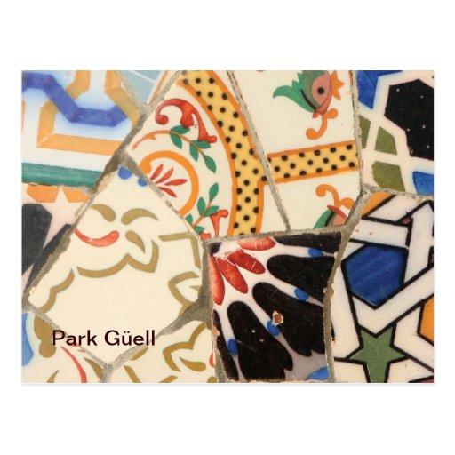 Barcelona- Park Güell Post Card