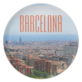 Barcelona Party Plates