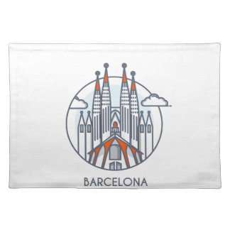 Barcelona Placemat