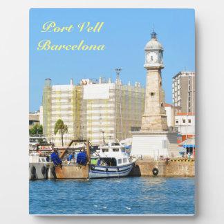 Barcelona Plaque