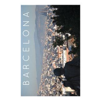 Barcelona Postcard Stationery