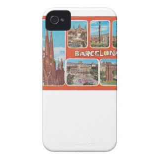 Barcelona retrospect iPhone 4 cover