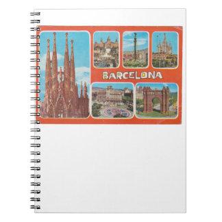 Barcelona retrospect notebook