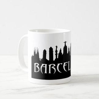 Barcelona Skyline Mug