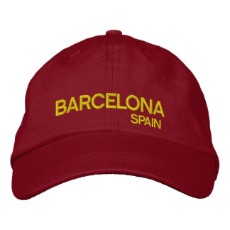 Barcelona* Spain Adjustable Hat