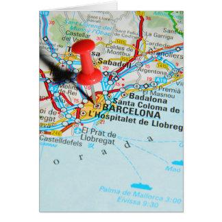 Barcelona, Spain Card