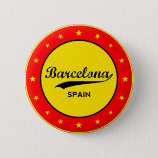Barcelona, Spain, circle 2 Inch Round Button