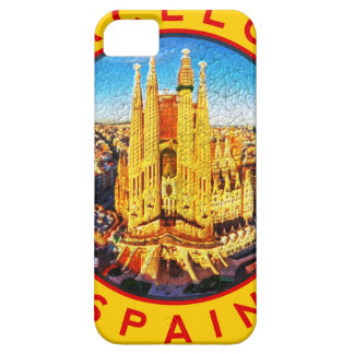 Barcelona, Spain, circle, yellow Case For The iPhone 5