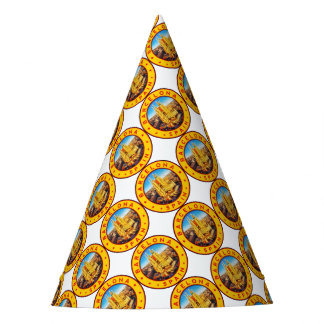 Barcelona, Spain, circle, yellow Party Hat