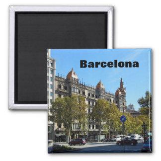 Barcelona Spain City Center Magnet