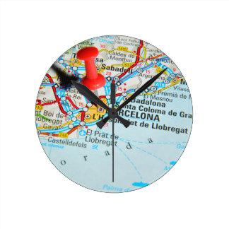 Barcelona, Spain Clock