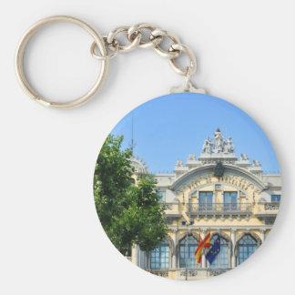 Barcelona, Spain Keychain
