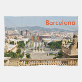 Barcelona, Spain Kitchen Towel