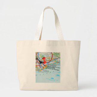 Barcelona, Spain Large Tote Bag