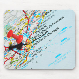 Barcelona, Spain Mouse Pad