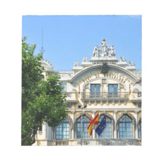 Barcelona, Spain Notepad