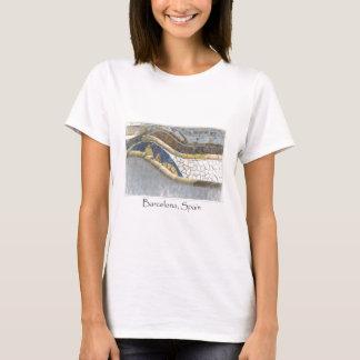 Barcelona Spain Parc Guell Tourist Destination T-Shirt