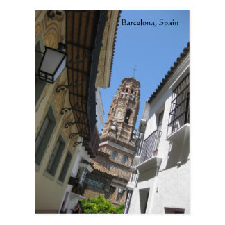 Barcelona Spain Post Card