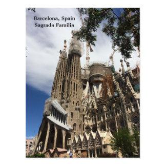 Barcelona Spain Sagrada Familia Postcard