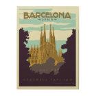 Barcelona, Spain - Sagrada Familia Wood Print