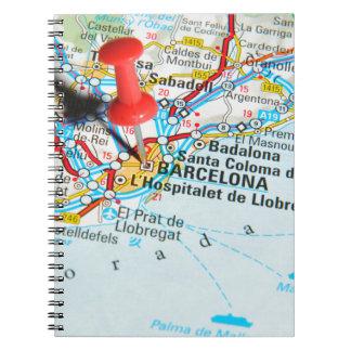 Barcelona, Spain Spiral Notebook