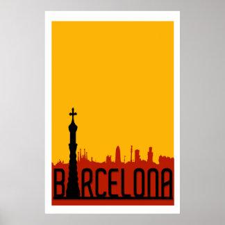 Barcelona, Spain,Travel Poster