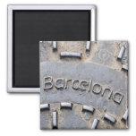 Barcelona Spain Travel Souvenir Fridge Magnet