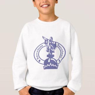 Barcelona Stamp Sweatshirt