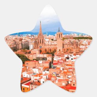 Barcelona Star Sticker