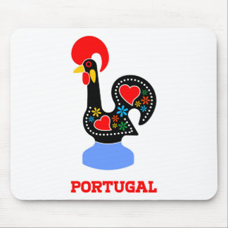 Barcelos Rooster Mouse Pad