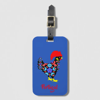 Barcelos Rooster Portuguese National Emblem Luggage Tag