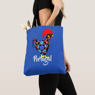 Barcelos Rooster Portuguese National Emblem Tote Bag