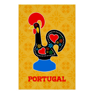 Barcelos Rooster Poster