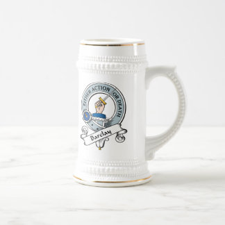 Barclay Clan Badge Beer Stein