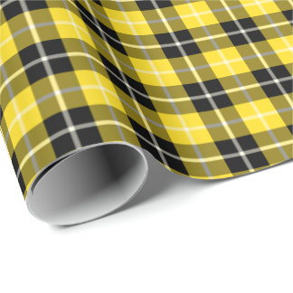 Barclay Clan Dress Tartan Wrapping Paper