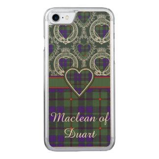 Barclay clan Plaid Scottish tartan Carved iPhone 8/7 Case