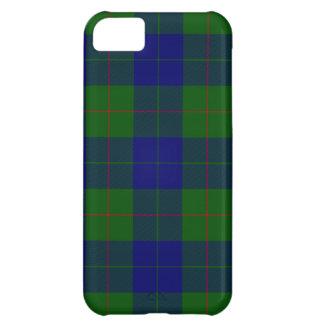 Barclay clan tartan cover for iPhone 5C
