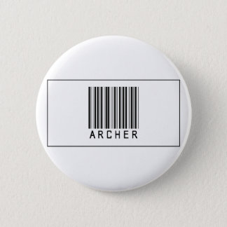 Barcode Archer 2 Inch Round Button