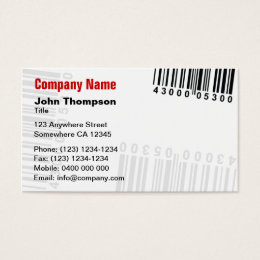 Barcode business cards business card printing zazzle ca barcode business card colourmoves
