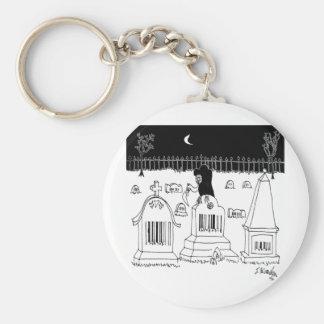Barcode Cartoon 7019 Keychain