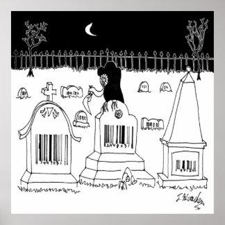 Barcode Cartoon 7019 Poster